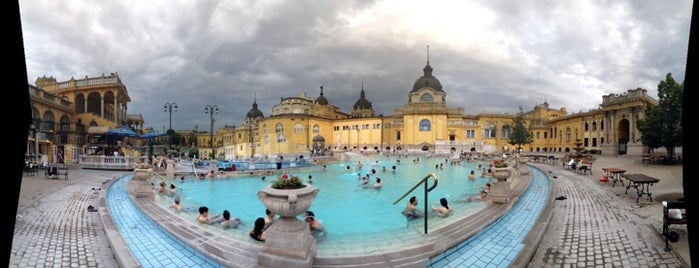 Széchenyi Thermal Bath is one of Budapest.