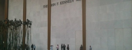 The John F. Kennedy Center for the Performing Arts is one of ♡DC.