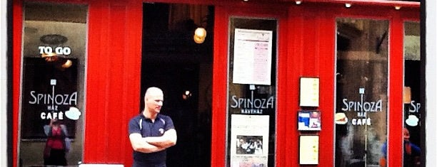 Spinoza Café is one of I have been here.