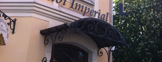 Imperial cafe is one of The Barman's bars in Tallinn.