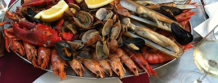 L'Ancora is one of Restaurants a la platja.