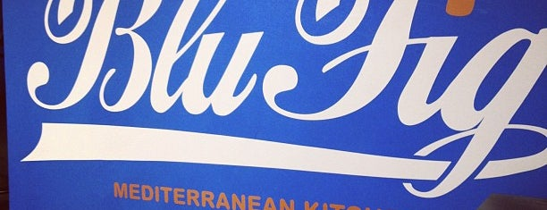Blu Fig Mediterranean Kitchen is one of Places to eat.