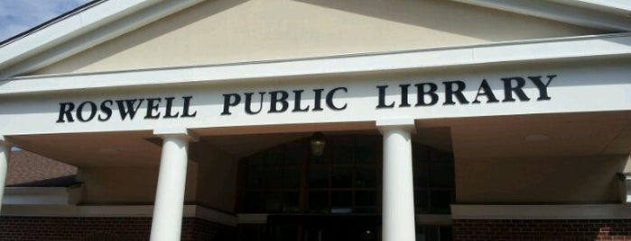 Roswell Public Library is one of Visit Roswell, GA.