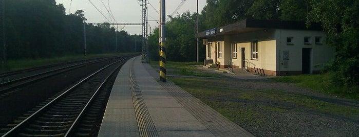Železniční stanice Ostrava-Třebovice is one of Linka S1/R1 ODIS Opava východ - Český Těšín.