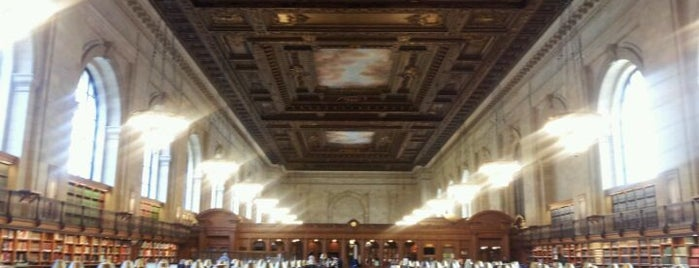 Rose Main Reading Room - New York Public Library is one of New York Public Libraries.