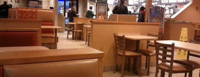 McDonald's is one of personal lunchdinner places.