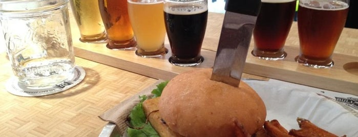 Bull City Burger and Brewery is one of Restaurants Part 2.