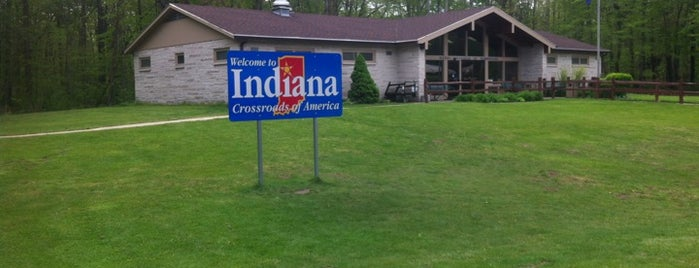 Indiana Welcome Center is one of Diary of the Open Road Checkpoints.