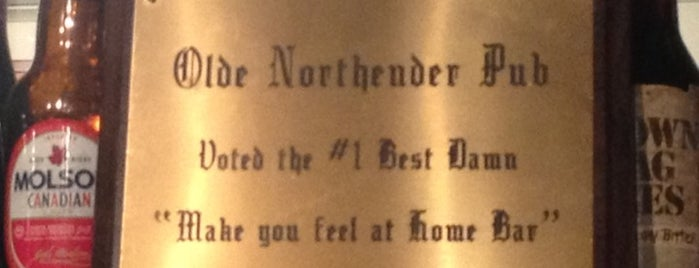 Olde Northender Pub is one of places to go.