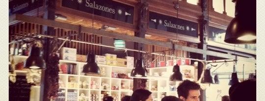 Mercado de San Miguel is one of Dieter's favourite spots in Madrid.