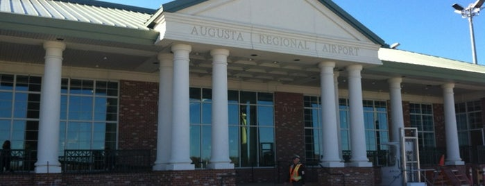 Augusta Regional Airport (AGS) is one of Airports been to.