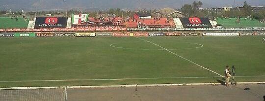 Estadio Municipal de La Cisterna is one of Estadios.