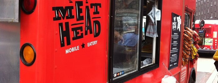 MeatHead Mobile Eatery is one of DC Food Trucks.
