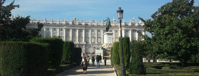 Plaza de Oriente is one of Dieter's favourite spots in Madrid.