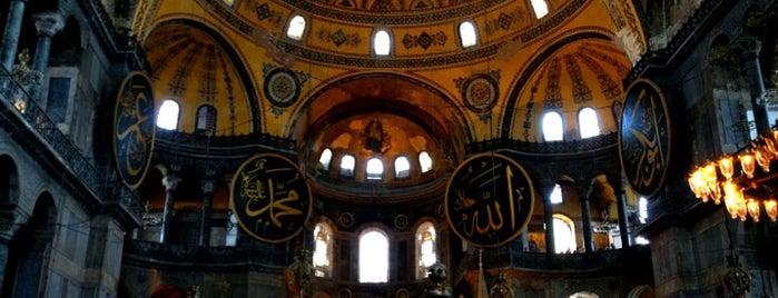 Ayasofya is one of Istanbul City Guide.