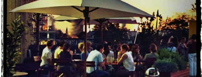 Southbank Centre Roof Garden, Café & Bar is one of London bars.