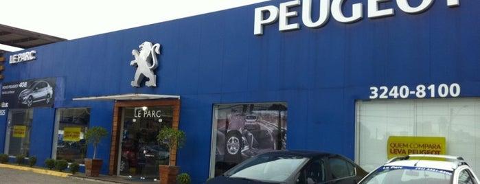 Peugeot Le Parc is one of Dealers.