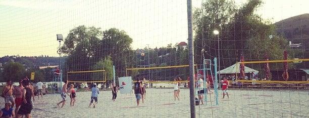 Beach volejbal v Praze