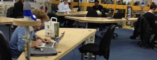 TechHub is one of Tech Trail: London.