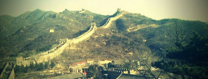 Great Wall at Badaling is one of Places To See Before I Die.