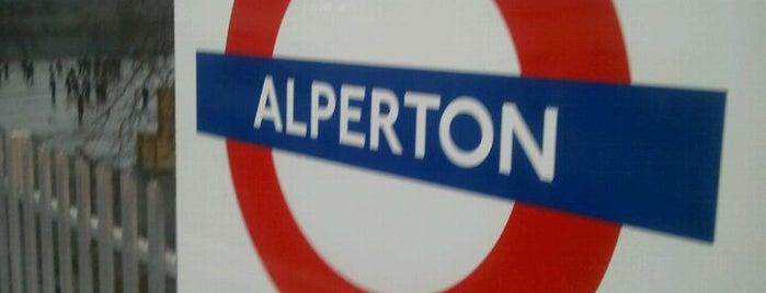 Alperton London Underground Station is one of Tube Challenge.