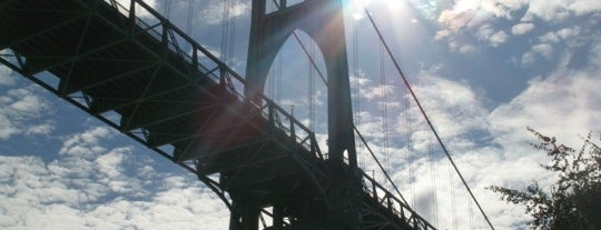 St. Johns Bridge is one of The Best Spots in Portland, OR! #4sqCities.