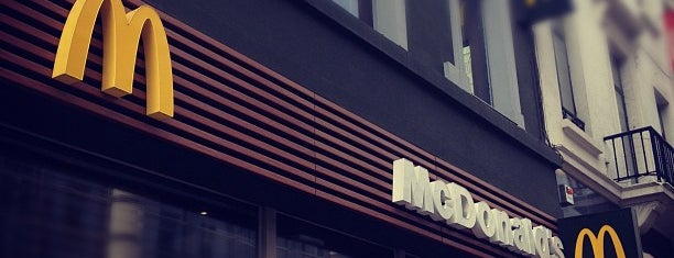 McDonald's is one of Brussels.
