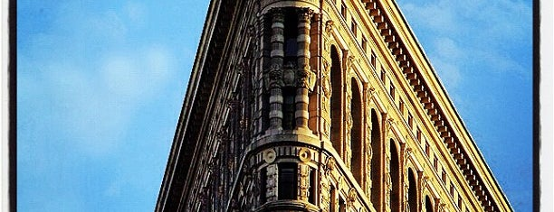 Flatiron Building is one of New York for the 1st time !.