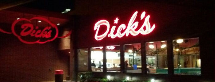 Dick's Drive-In is one of Seattleite Badge.