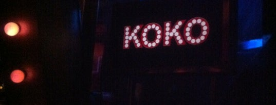 KOKO is one of Best Live Music Venues.