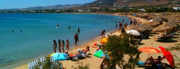 Golden Beach is one of Paros Top.