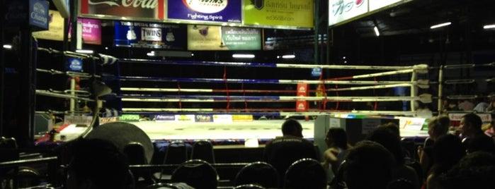 Lumpinee Boxing Stadium is one of Bangkok.
