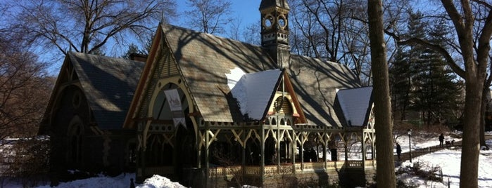 Central Park Dairy & Gift Shop is one of Park Highlights of NYC.