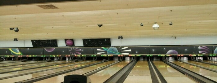 Strike & Spare Family Bowl is one of Favorites.