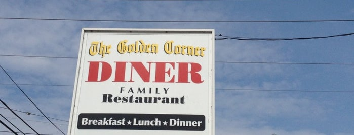 Golden Corner Diner is one of Diners I want to go.