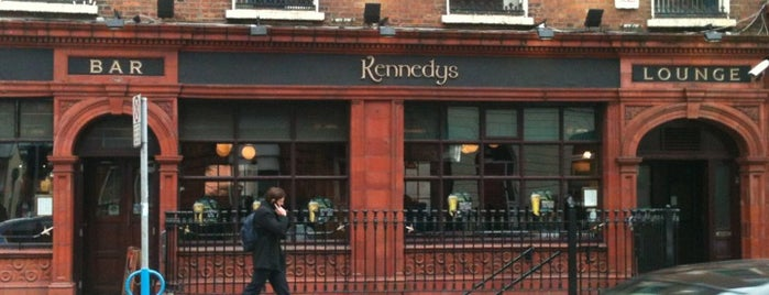 Kennedy's is one of Dublin Literary Pub Crawl.