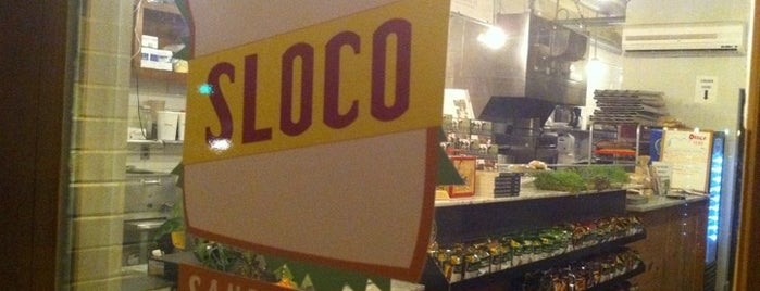 Sloco is one of Places to eat.