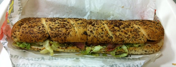 Subway is one of Life.