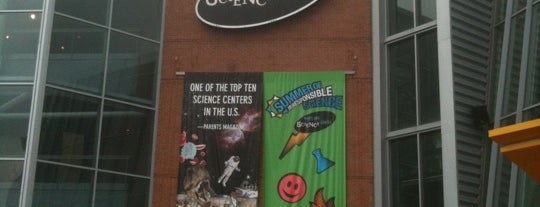 Maryland Science Center is one of Museums in Baltimore, MD.