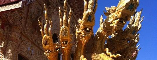 วัดศรีพันต้น is one of Holy Places in Thailand that I've checked in!!.