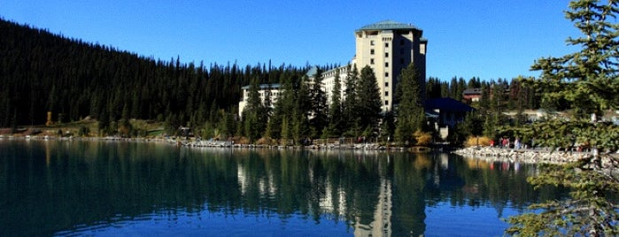 The Fairmont Chateau Lake Louise is one of Canada Favorites.