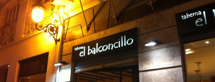 El Balconcillo is one of Croquetas Valencia.