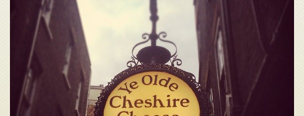 Ye Olde Cheshire Cheese is one of My London.