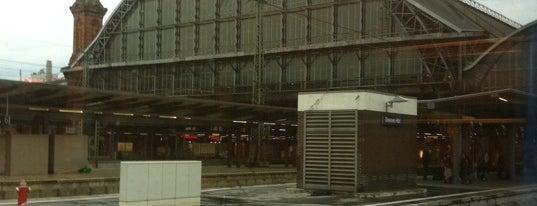 Bremen Central Station is one of Bahnhöfe DB.