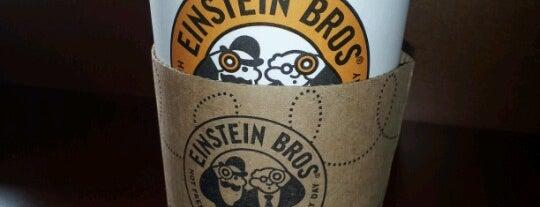 Einstein Bros Bagels is one of Dawn'ın Beğendiği Mekanlar.