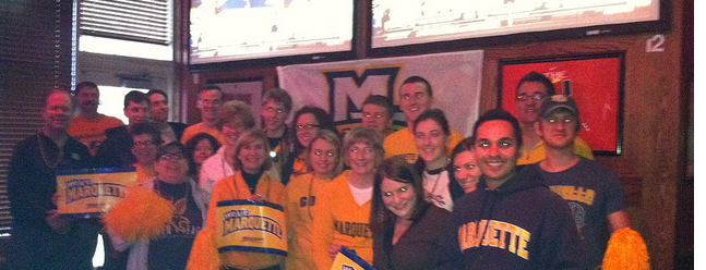 Chinnati's Pizza is one of Marquette game-watching venues.