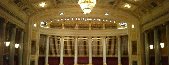 Wiener Konzerthaus is one of StorefrontSticker #4sqCities: Vienna.