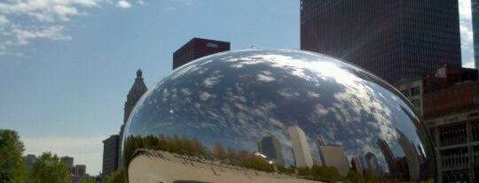 Cloud Gate by Anish Kapoor is one of Two days in Chicago, IL.