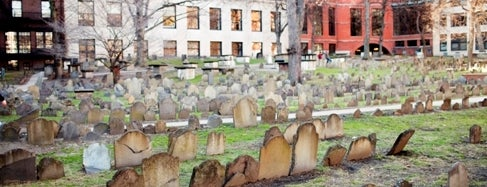Granary Burying Ground is one of IWalked Boston's Crimes-Haunts (Self-guided tour).