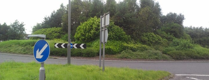 Greencornhills Roundabout is one of Named Roundabouts in Central Scotland.